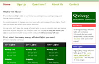 Image of Qekeg.com website
